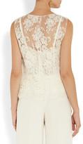 Dolce & Gabbana Chantilly lace top