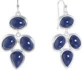 Liz Claiborne Blue Chandelier Earrings