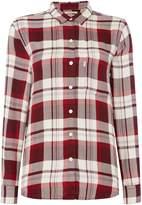 Levi's WT Checked Boyfriend Shirt with Pocket