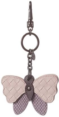 Bottega Veneta Intrecciato Leather & Snakeskin Charm