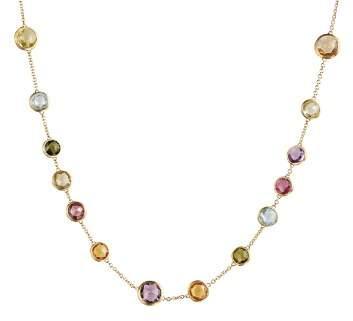 "Marco Bicego Mini Jaipur Multicolored Gemstone Necklace, 16"""