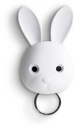 Qualy - Keys Holder Wall Mounted Bunny Rabbit In White