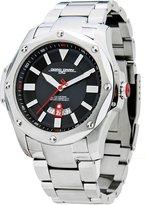 Jorg Gray Solid Stainless Steel Bracelet Dial Men's watch #JG9100-21