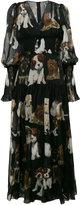 Dolce & Gabbana printed dress - women - Silk/Cotton/Polyamide/Spandex/Elastane - 38