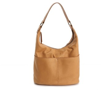 American Leather Co. Leather Hobo Bag