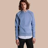 Burberry Stud Detail Cotton-blend Sweatshirt