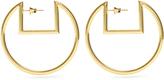 Isabel Marant Squared-top hoop earrings