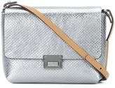 Brunello Cucinelli perforated detail cross body bag