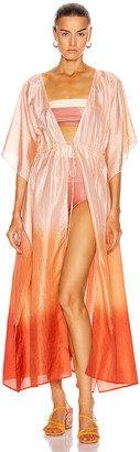 Flagpole Alexis Kaftan Top in Ombre | FWRD