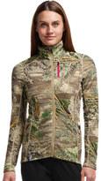 Icebreaker Women's Cascade Long Sleeve Zip Jacket Real Tree