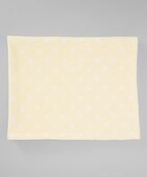 30'' x 40'' Yellow Star Stroller Blanket