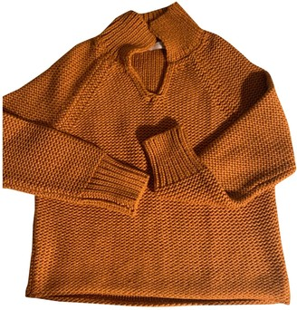 Fabiana Filippi Camel Wool Knitwear for Women