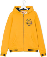 Levi's Kids - logo print hoodie - kids - Cotton/Polyester - 14 yrs