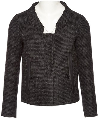 Chloé Grey Wool Jackets