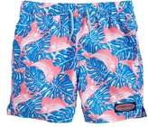 Vineyard Vines Chappy Sailfish & Leaves Swim Trunks