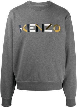 Kenzo Embroidered-Logo Sweatshirt