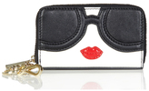Alice + Olivia Staceface Small Wallet With Keychain