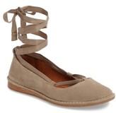 Frye Women's Helena Ankle Wrap Flat
