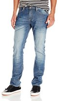 Buffalo David Bitton Men's Evan Slimmer Straight Leg Jean In Stretch Denim