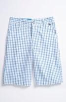 Volcom 'Adit' Plaid Shorts (Little Boys & Big Boys)