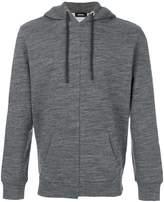 Diesel fitted hooded sweatshirt