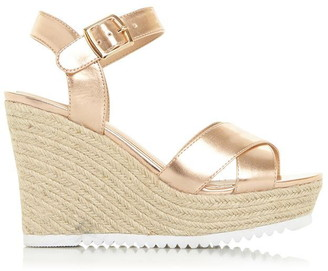 Head Over Heels Katyaa Espadrille Wedge Heel Sandals