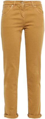 Brunello Cucinelli Mid-rise Slim-leg Pants
