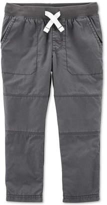 Carter's Carter Toddler Boys Cotton Elastic Waist Pants