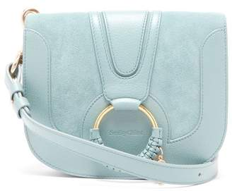 See by Chloe Hana Small Leather And Suede Cross-body Bag - Womens - Blue