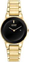 Citizen Eco-Drive Axiom Womens Gold-Tone Watch GA1052-55E