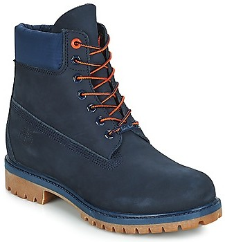 """Timberland 6"""" Premium Boot men's Mid Boots in Blue"""