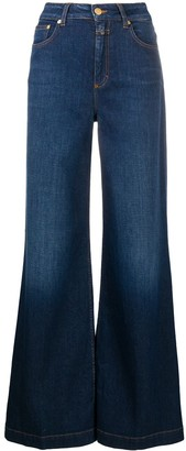 Closed Glow-up high-rise wide-leg jeans