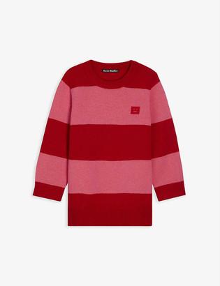 Acne Studios Mini Nimah striped wool-knit jumper 3-10 years