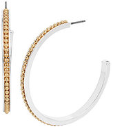 Kenneth Cole New York Beaded Hoop Earrings