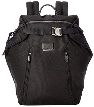 Tumi Alpha Bravo Grant Backpack (Black) Backpack Bags