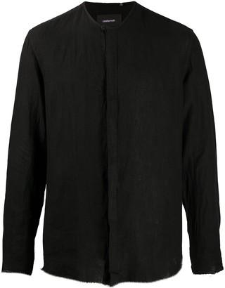 Costumein Collarless Long-Sleeved Shirt