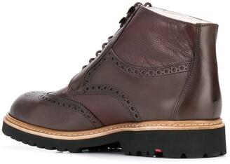 Lloyd Varon sheepskin lined ankle boots