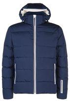 Fendi Contrast Trim Down Jacket