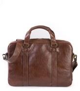 Boconi Men's 'Becker' Leather Briefcase - Brown