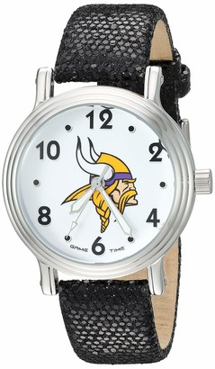 Game Time Gametime Men's Analog-Quartz Watch with Leather-Synthetic Strap