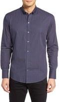 Zachary Prell Men's Plaid Sport Shirt