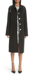 Alexander Wang Zip Detail Wool Coat