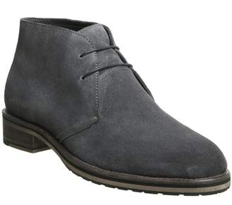 Ask the Missus Inland Chukka Boots Grey Suede