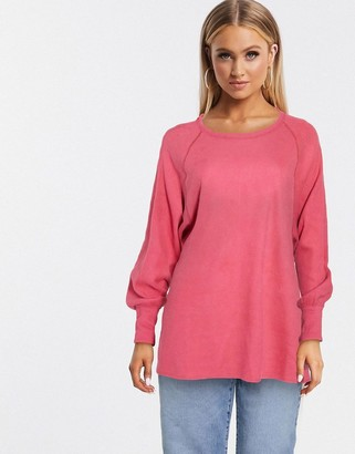 Free People amelia thermal in pink