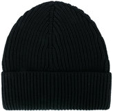 Maison Margiela ribbed beanie hat - men - Wool - One Size