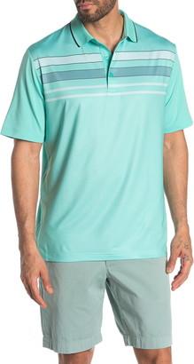 Callaway Golf Chest Stripe Printed Polo