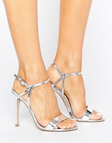 Lipsy Cross Front Barely There Shoes