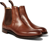 Cheaney Godfrey Burnished-leather Chelsea Boots - Brown
