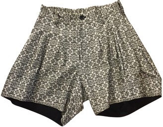 Limi Feu Multicolour Cotton Shorts for Women
