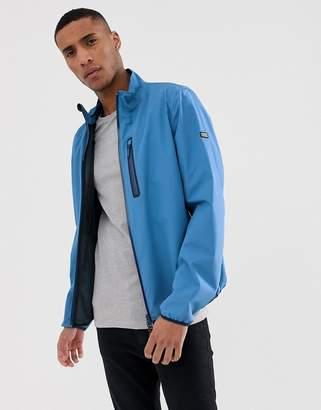 Barbour International Ranson waterproof zip through jacket in blue-Grey